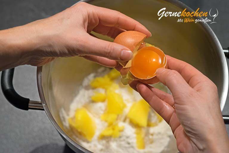Birnenkuchen mit Lavendel - Zubereitungssschritt 1.1