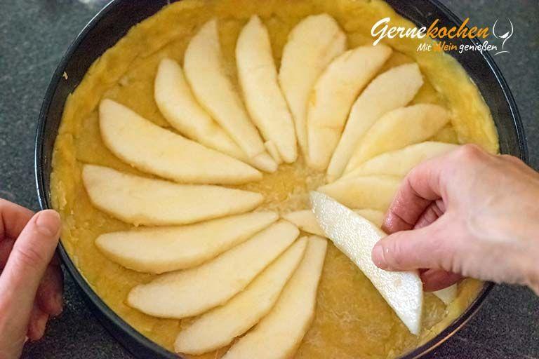 Birnenkuchen mit Lavendel - Zubereitungsschritt 2.4