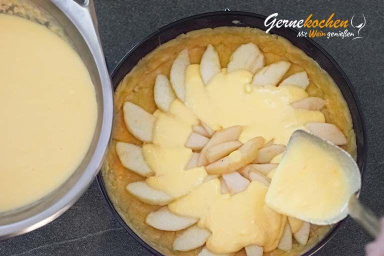 Birnenkuchen mit Lavendel - Zubereitungsschritt 2.5