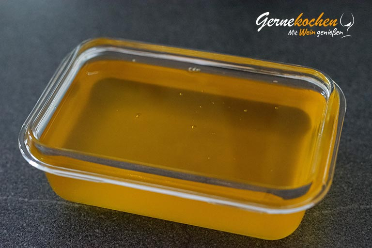 Braune Butter (Butterschmalz, Ghee) selber machen - Zubereitungsschritt 2.2