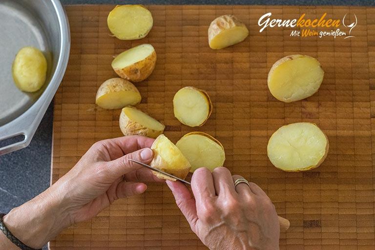 Kartoffelkroketten selber machen - Zubereitungtsschritt 2.1