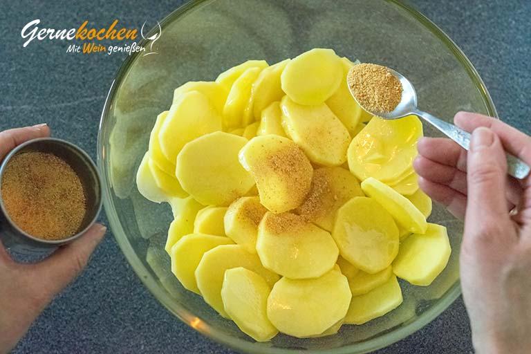 Pommes chips – Zubereitungsschritt 3