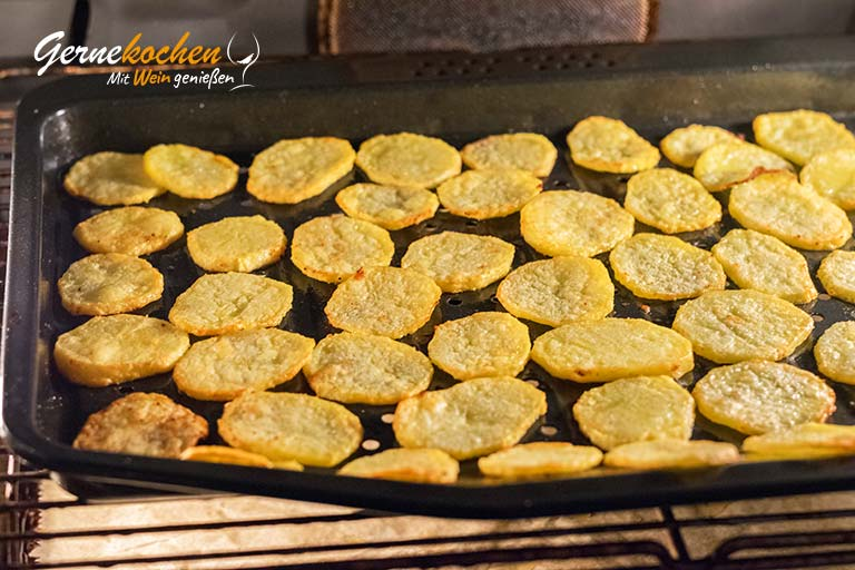 Pommes chips – Zubereitungsschritt 4