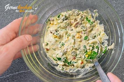 Remoulade selber machen mit Mayonnaise