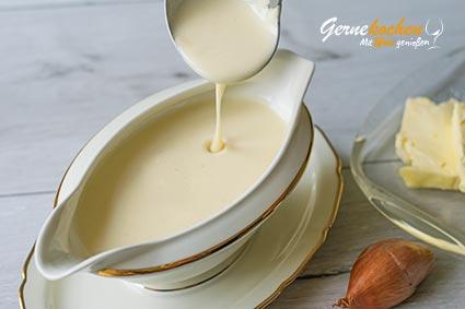 Weiße Grundsauce Velouté Rezept