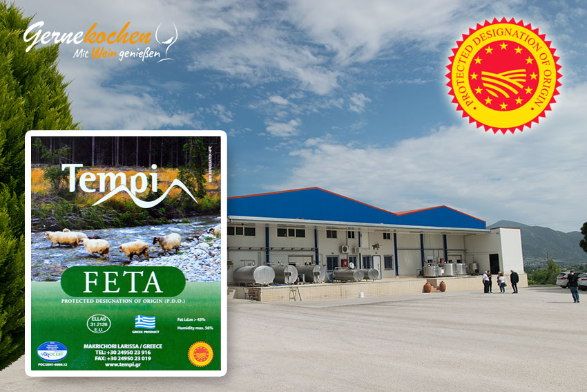 Feta PDO – Let's get real! TEMPI 1 aus Makrichori, Larissa – Thessalien