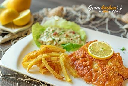 Backfisch mit Pommes frites Rezept