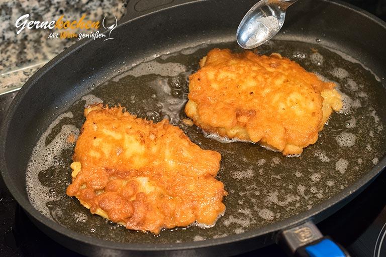 Backfisch mit Pommes frites - Zubereitungsschritt 3