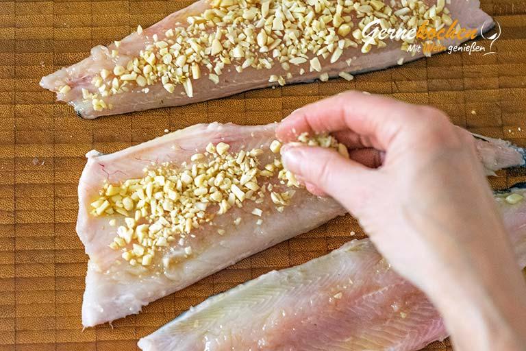Forellenfilets in Nusskruste - Zubereitungsschritt 7.2