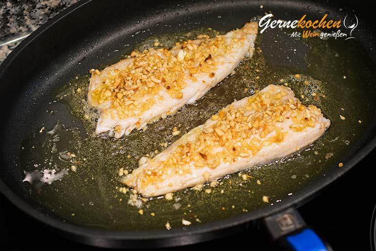 Forellenfilets in Nusskruste - Zubereitungsschritt 8