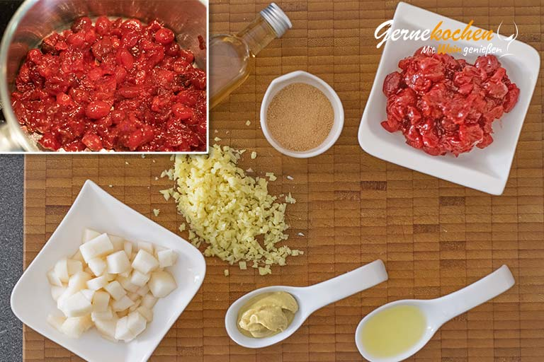 Forellenfilets in Nusskruste – Zubereitungsschritte 1 und 2