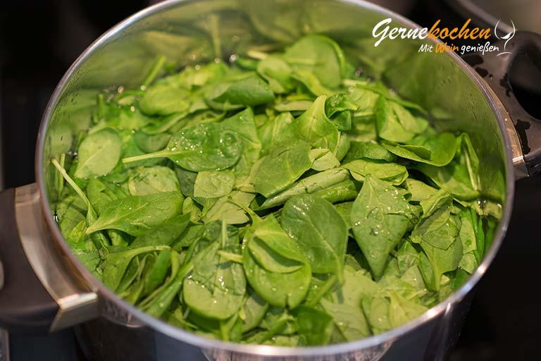Lammkeule gefüllt mit Spinat und Feta  - Arbeitsschritt 2.1 - Zubereitungsschritt 2.11