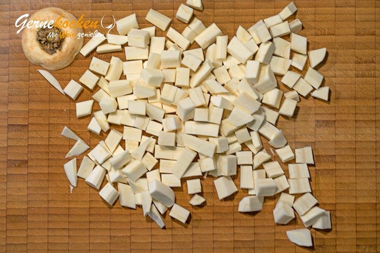 Pastinaken-Pürree - Zubereitungsschritt 1