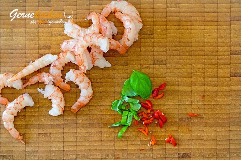 Rotgarnelen mit gelbem Paprika-Ketchup – Zubereitungschritt 4
