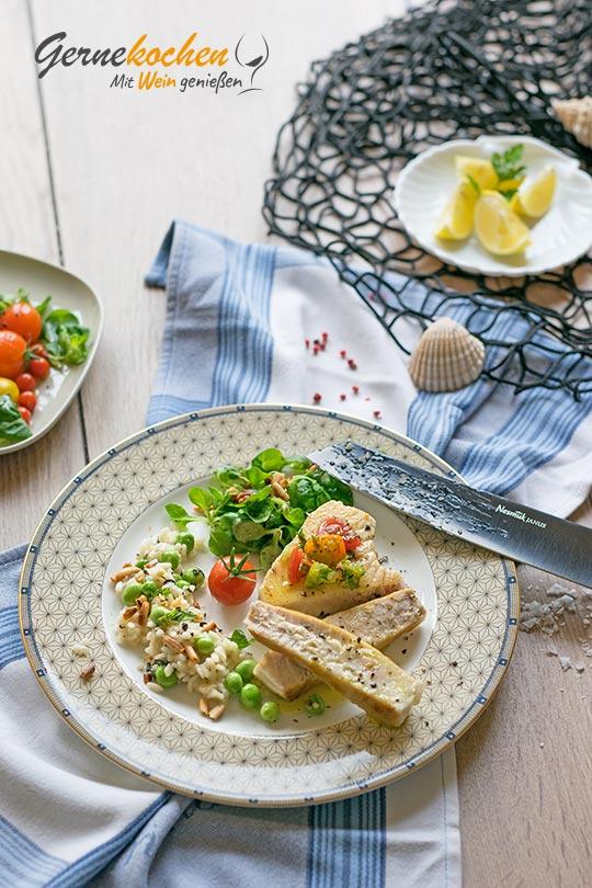 Rezept Thunfischsteak mit Risotto