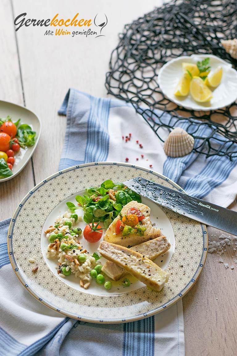 Thunfisch-Steak. Gernekochen - Mit Wein genießen