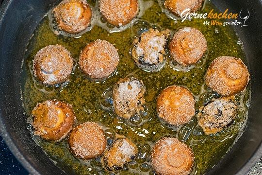 Gernekochen - Mit Wein genießen: Frittierte Backpflaumen und Champignons