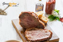 Gernekochen - Mit Wein genießen Iberico vom Grill mit Erdbeer-Elixier jasmine-Ketchup