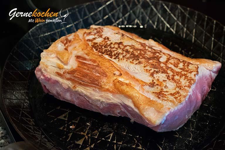 Kalbsrücken aus dem Slow Cooker – Zubereitungsschritt 2