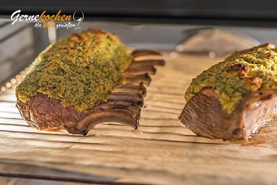 Lammkarree mit Kräuterkruste - Zubereitungsschritt 5