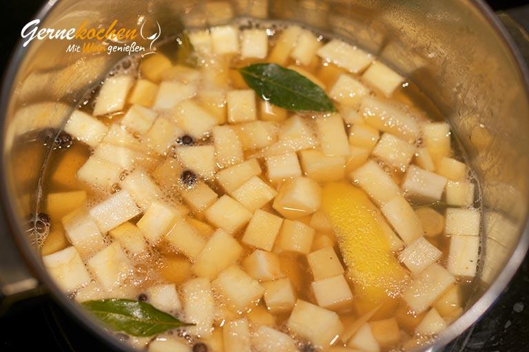 Pastinaken-Schmandkartoffeln – Zubereitungsschritt 3