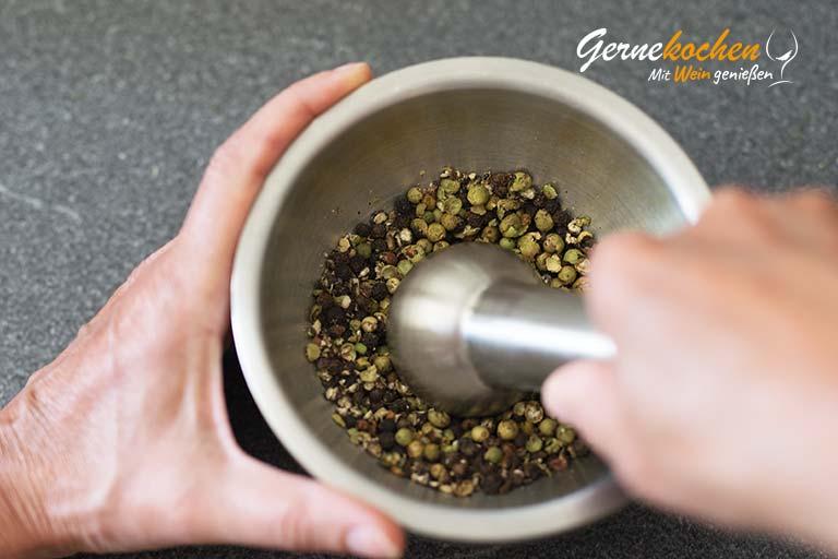 Pfeffersteak vom Grill – Zubereitungsschritt 5.1