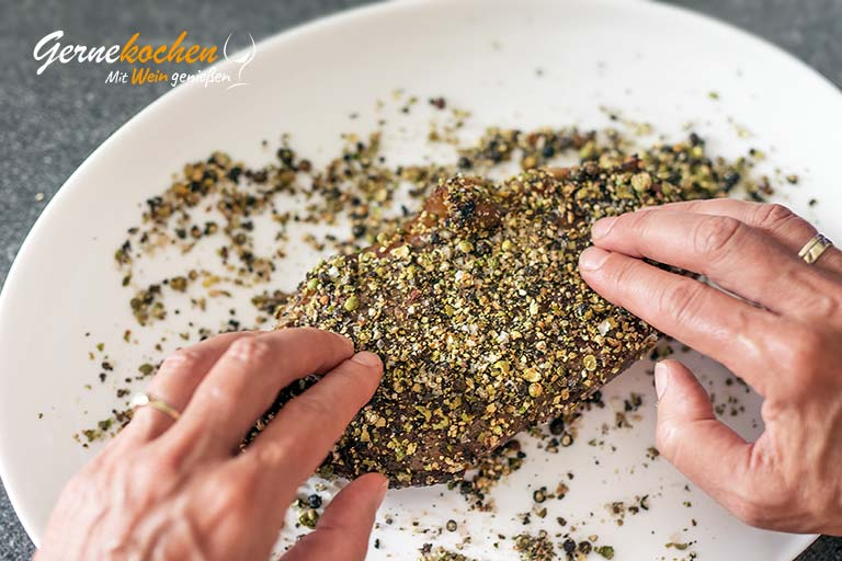 Pfeffersteak vom Grill – Zubereitungsschritt 6