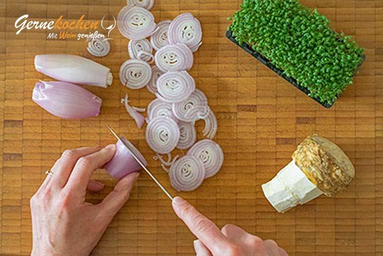 Rinderfilet-Ragout in Orangensauce – Zubereitungsschritt 2