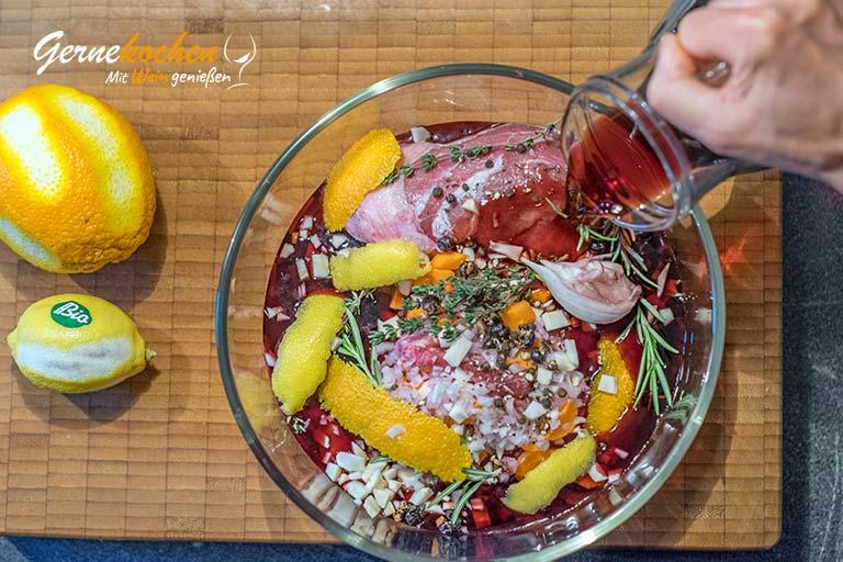 Geschmorte Kalbsbäckchen aus dem Slow Cooker - Zubereitungsschritt 1.2