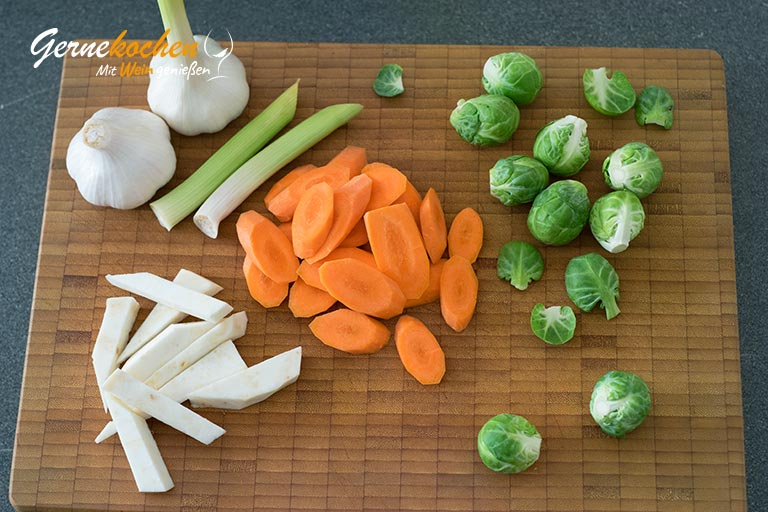 Geschmorte Kalbsbäckchen aus dem Slow Cooker - Zubereitungsschritt 6.1