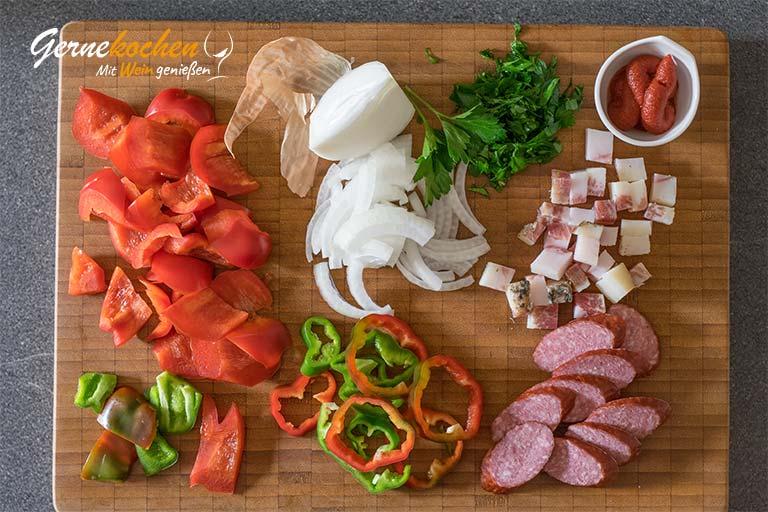 Kotelett vom Mangalitza-Schwein – Zubereitungsschritt 1