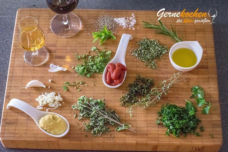 Roastbeef mit Kräuterkruste – Zubereitungsschritt 1.1