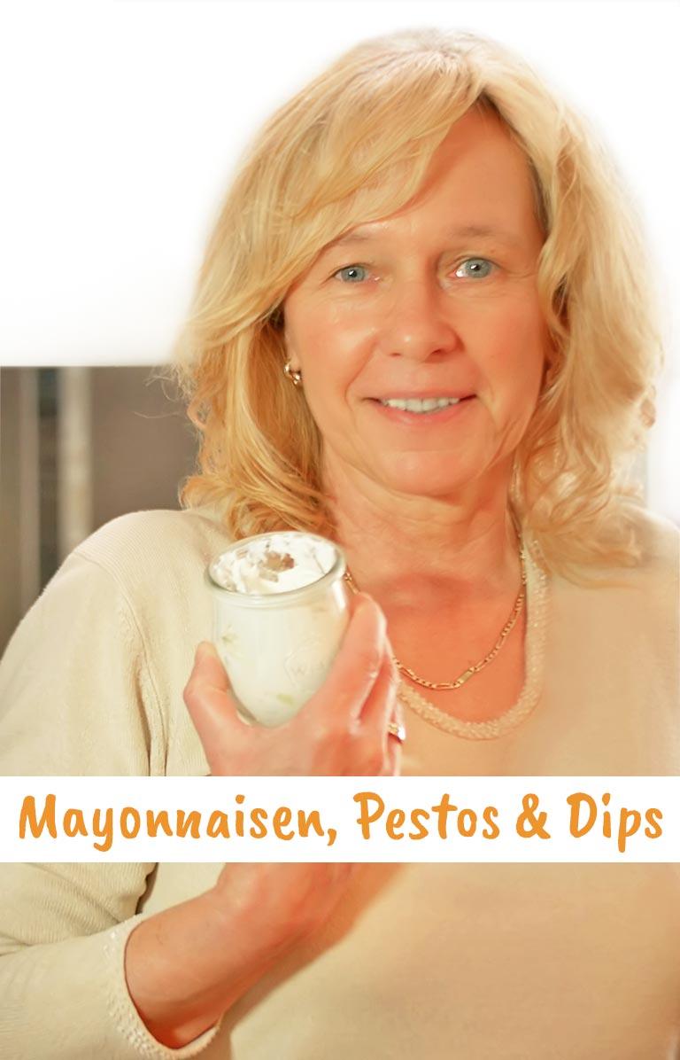 MAYONNAISEN, PESTOS & DIPS - Gernekochen - Mit Wein genießen