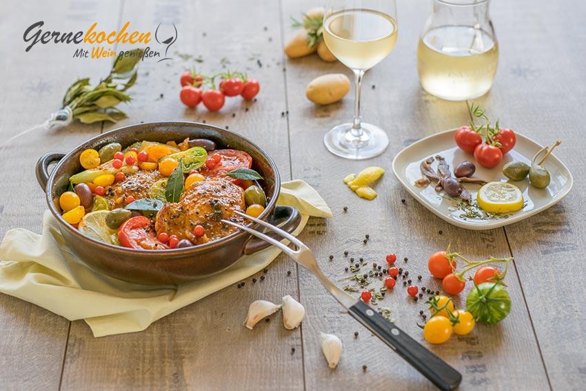 Moringa-Schmorhähnchen. Gernekochen - Mit Wein genießen