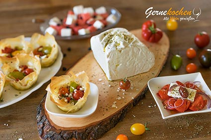 Griechische Käsesorten und die dazu passenden Weine: 6. Teil - Feta. Nikoleta Makrionitou