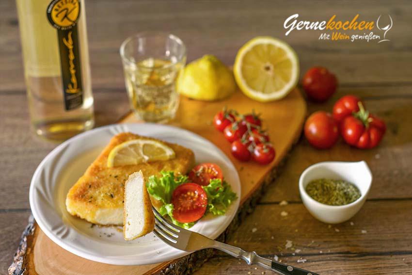 Saganaki aus Kefalotyri. Gernekochen – Mit Wein genießen