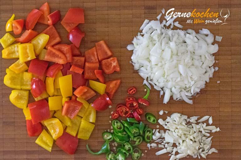 Chili con carne - Zubereitungsschritt 1