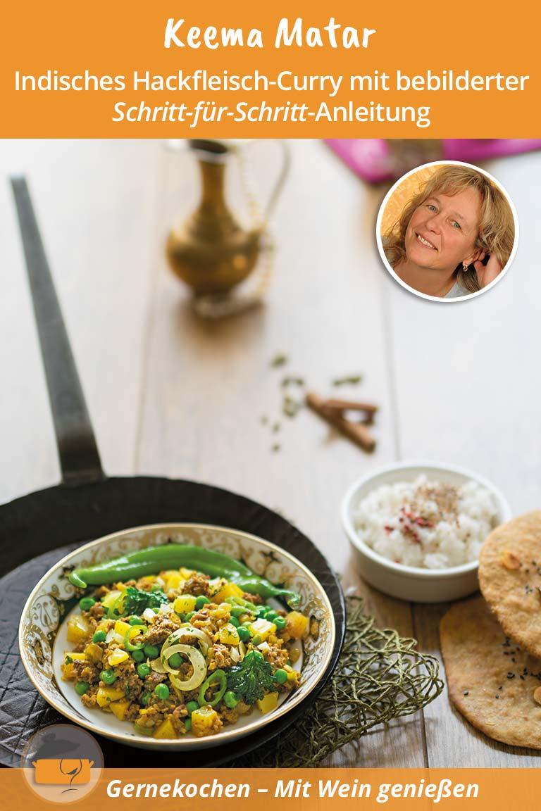 Indisches Hackfleisch Curry mit Kokosmilch