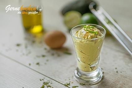 Avocado-Limetten-Mayonnaise Rezept