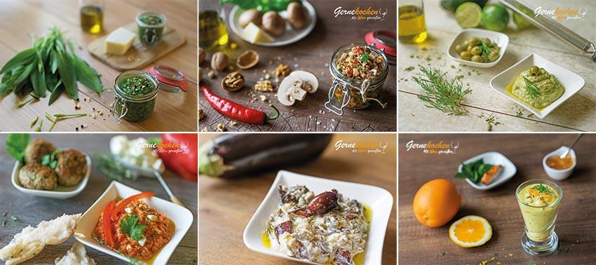 Pestos und Dips. Gernekochen - Mit Wein genießen