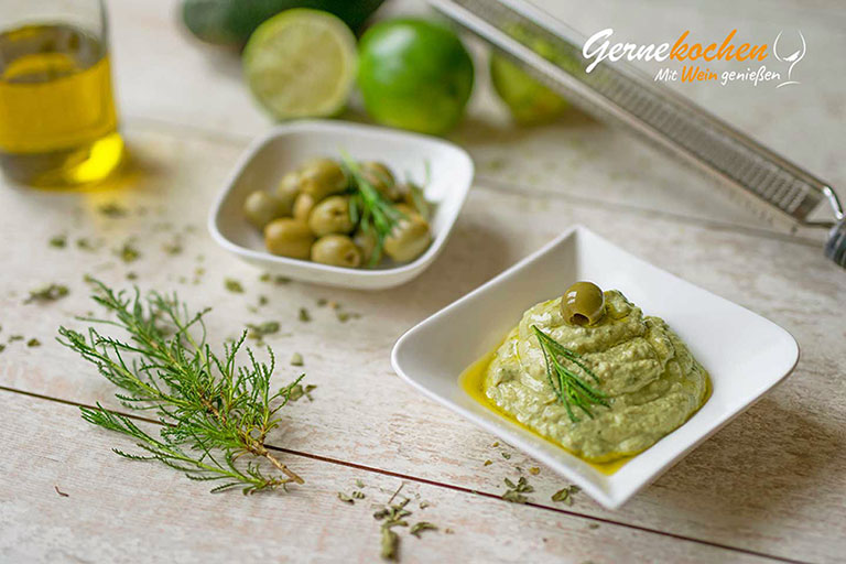 Oliven-Avocado-Dip à la Gernekochen