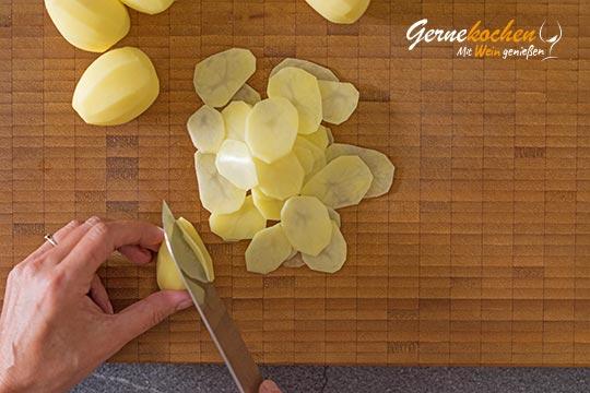 Kartoffelchips - Zubereitungsschritt 1.1