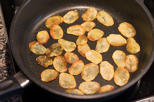 Kartoffelchips - Zubereitungsschritt 2