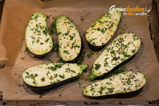 Melitzano Salata - Zubereitungsschritt 1.2