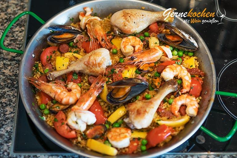 Paella selber machen - Zubereitungsschrutt 8