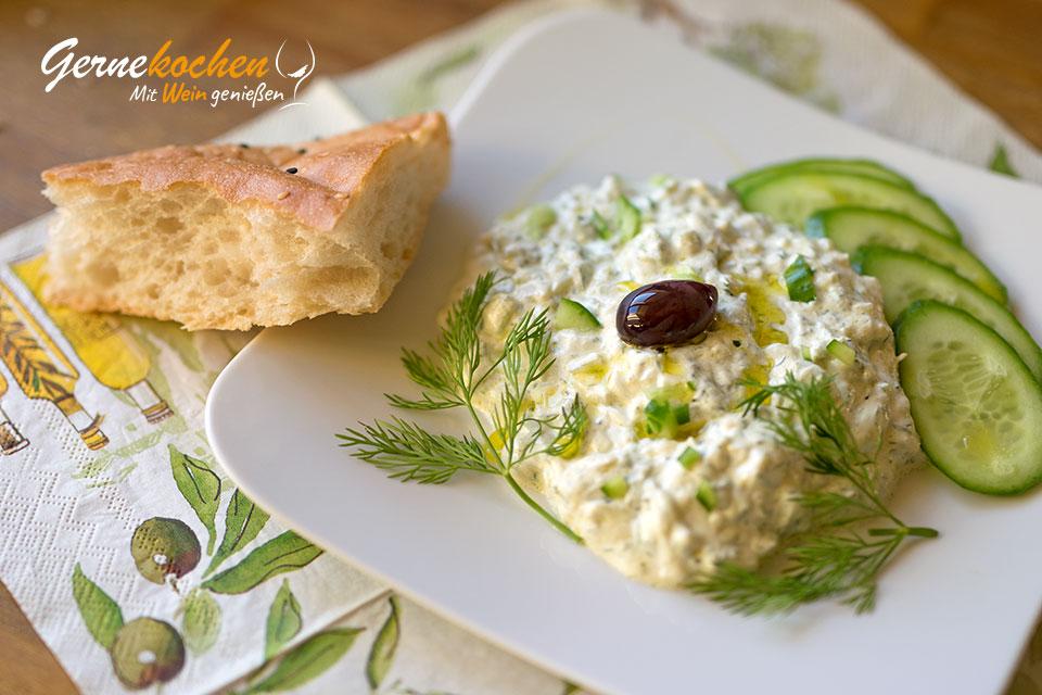 Tzatziki original griechisch. Gernekochen - Mit Wein genießen