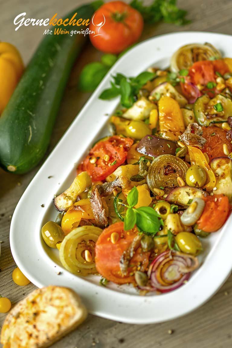 Caponata – Sizilianisches Gemüse