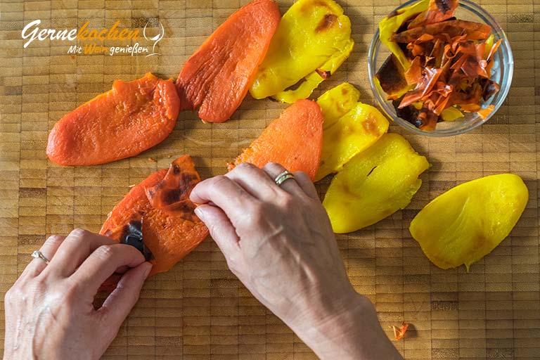 Gegrillte Rotbarben, Ratatouille - Zubereitungsschritt 1.2