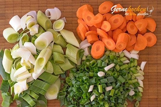 Griechische Fischsuppe avgolemono - Zubereitungsschritt 1