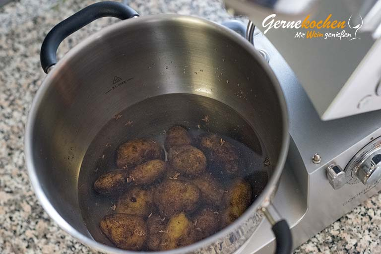 Griechische Kalbschnitzel (Sofrito) - Zubereitungsschritt 1